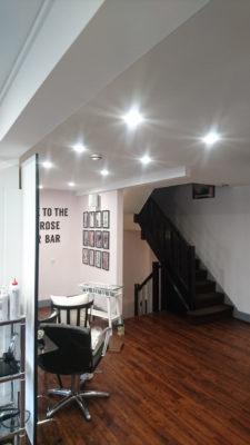 lights installation